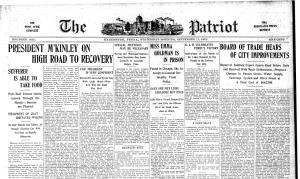 patroit newspaper picture