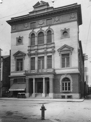 The Board of Trade building in 1903